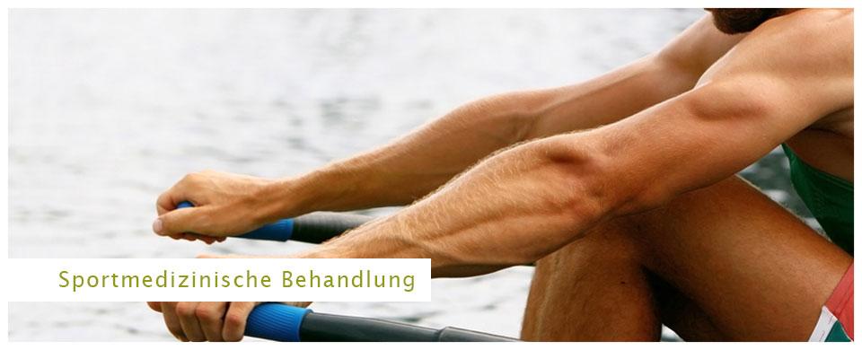 Sportmedizinische Behandlung